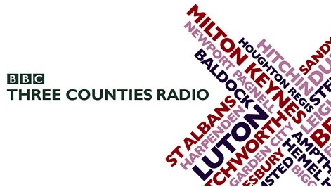 Radio Interview at BBC Three Counties with Nick Coffer 16/5/17